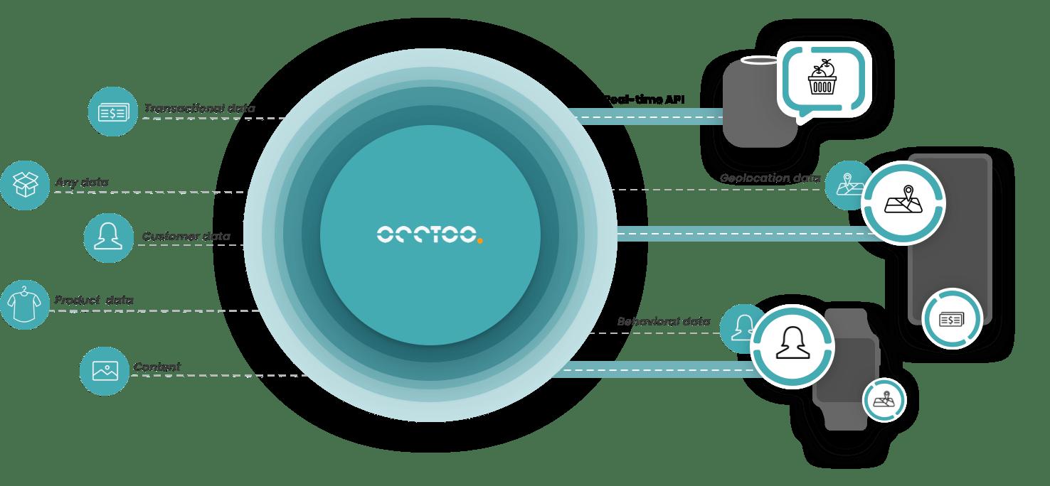 Occtoo illustration data flow